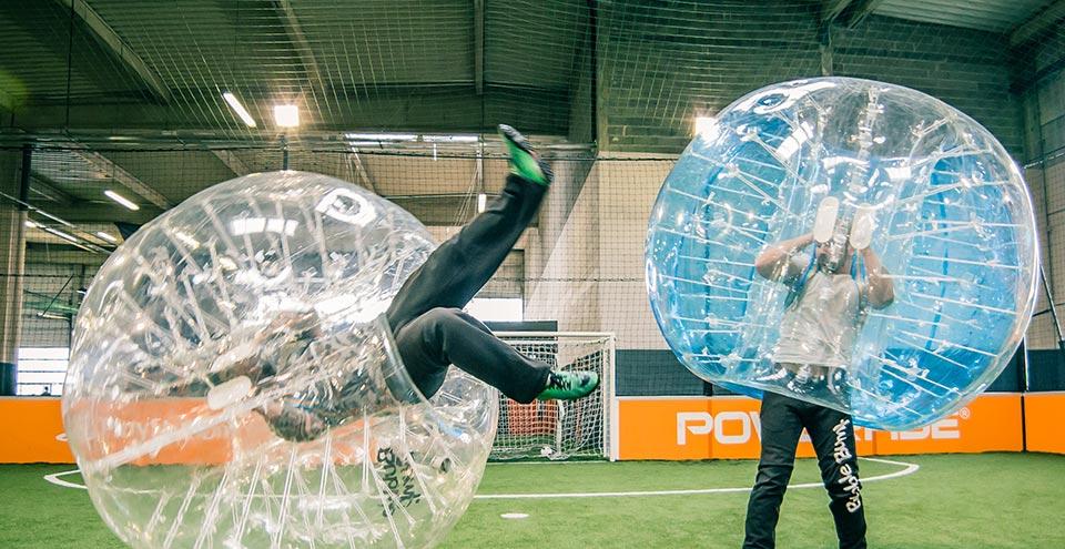 EVG à Toulouse Bubble foot